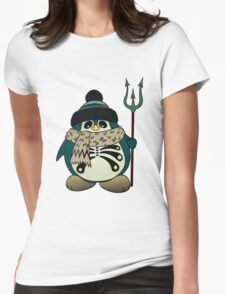 Harold The Penguin Womens Fitted T-Shirt