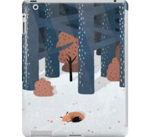 Asleep in the Woods iPad Case/Skin