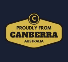 Proudly From Canberra Australia Kids Tee