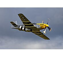 """North American P-51D Mustang """"Ferocious Frankie"""" Photographic Print"""
