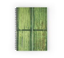 Green Erosion Spiral Notebook