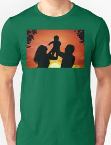 Happy family Unisex T-Shirt