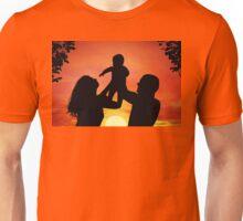 Happy family Unisex T-Shirt