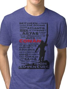 Days of High Adventure (Conan) Tri-blend T-Shirt