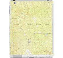 USGS TOPO Map Alabama AL Grayson 304031 1960 24000 iPad Case/Skin