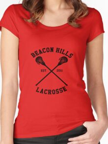 beacon hills 2011 Women's Fitted Scoop T-Shirt