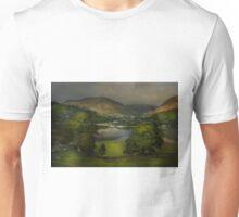 Last light on Ullswater Unisex T-Shirt