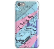 Alien Robot Attack iPhone Case/Skin