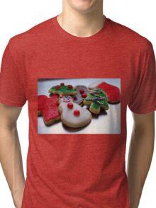 Christmas Cookies Tri-blend T-Shirt