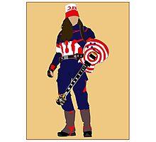 captain buckethead Photographic Print