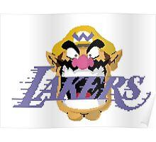 Wario Lakers Poster