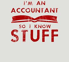 Accountants know stuff Unisex T-Shirt