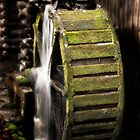 Mill Wheel in Cades Cove by LarryB007