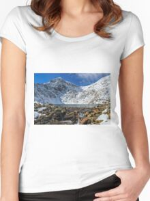 Snowdonia National Park Women's Fitted Scoop T-Shirt