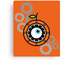 Clockwork Orange Canvas Print