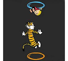calvin hobbes adventure time Photographic Print