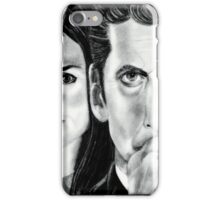 12th Doctor and Clara iPhone Case/Skin