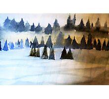 Christmas Landscape Photographic Print