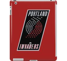 Portland Invaders iPad Case/Skin