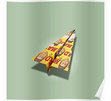 MAD Paper Airplane 148 Poster