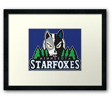 Minnesota Starfoxes Framed Print