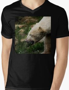 A Polar Bear Smile Mens V-Neck T-Shirt