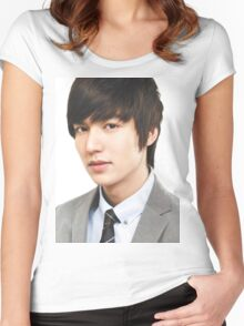 Lee Min Ho Handsome Women's Fitted Scoop T-Shirt