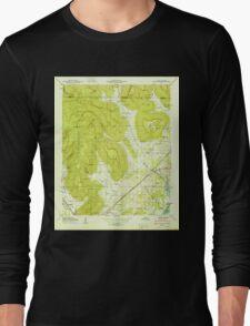 USGS TOPO Map Alabama AL Doran Cove 303697 1950 24000 Long Sleeve T-Shirt