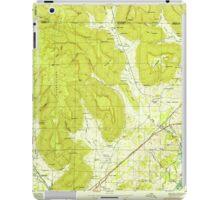 USGS TOPO Map Alabama AL Doran Cove 303697 1950 24000 iPad Case/Skin