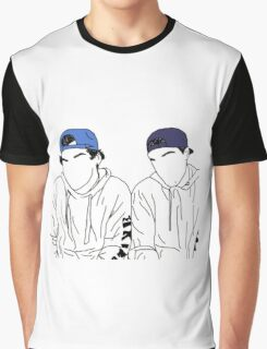 Dolan twins- stencil hats #2 Graphic T-Shirt