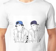 Dolan twins- stencil hats #2 Unisex T-Shirt