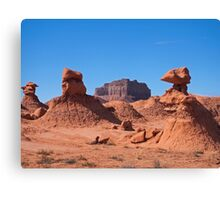 Goblin Valley and Beyond Canvas Print