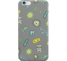 Cute Sick Germs iPhone Case/Skin