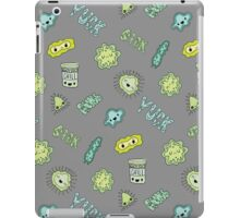 Cute Sick Germs iPad Case/Skin