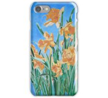 Golden Daffodils iPhone Case/Skin