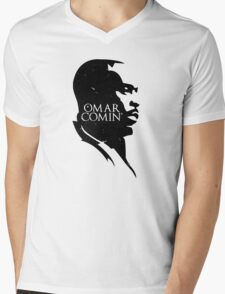 Omar Comin' Mens V-Neck T-Shirt
