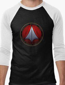 Robotech and logo Men's Baseball ¾ T-Shirt