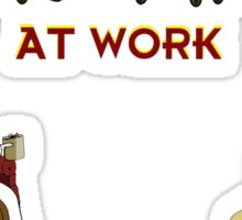 Get Work Sticker