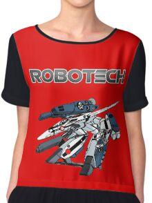 Robotech Super Valkyrie Chiffon Top