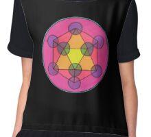 Sacred Geometry Chiffon Top