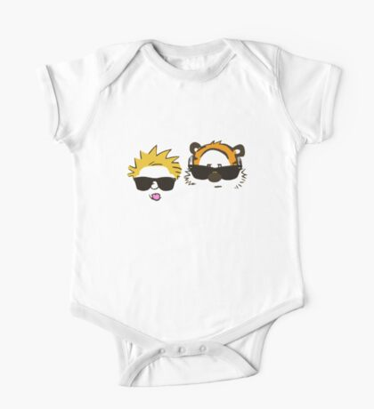 calvin and hobbes sunglasses One Piece - Short Sleeve