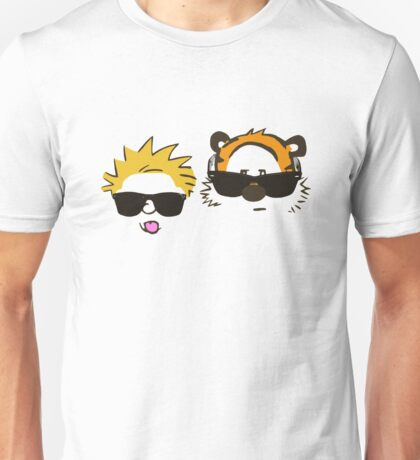 calvin and hobbes sunglasses Unisex T-Shirt