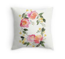 flower composition Throw Pillow
