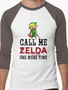 Call Me Zelda One More Time Men's Baseball ¾ T-Shirt