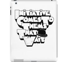 Initiative A Clockwork Orange Movie Quote iPad Case/Skin