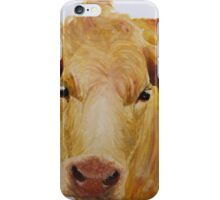 Cow print  iPhone Case/Skin