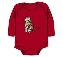 calvin and hobbes sleeping One Piece - Long Sleeve