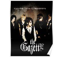 The Gazette Band 3 Poster