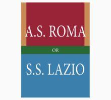 A.S.ROMA or S.S. LAZIO Baby Tee