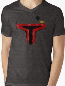 Minimalist Boba Fett Mens V-Neck T-Shirt